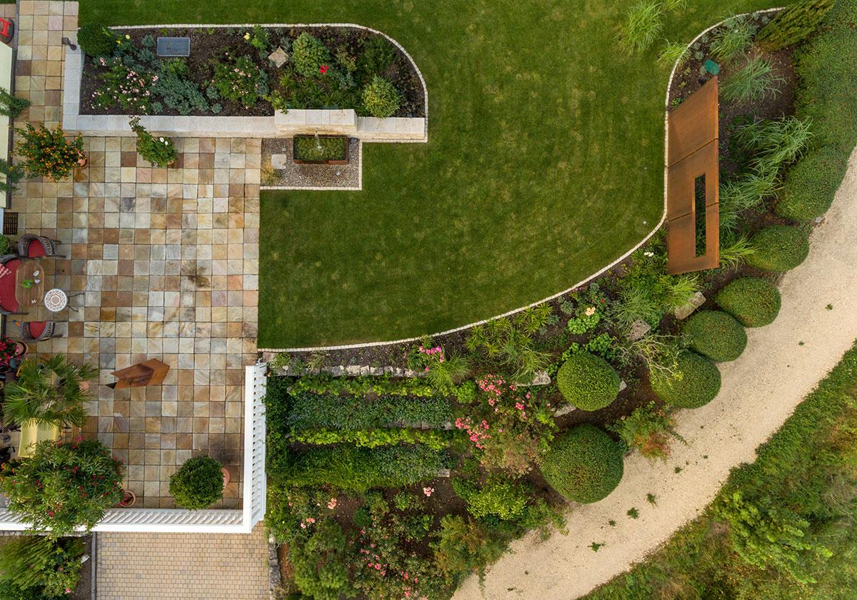 Wunschgarten mit Weitblick - Jäger, Garten- und Landschaftsbau